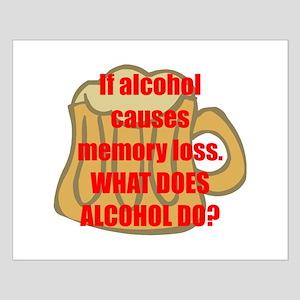 Memory loss Small Poster