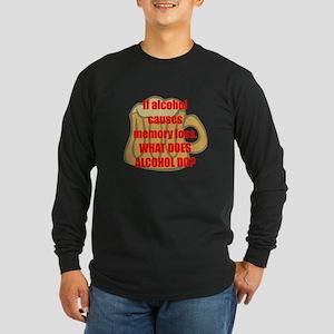 Memory loss Long Sleeve Dark T-Shirt