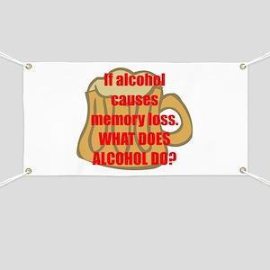 Memory loss Banner