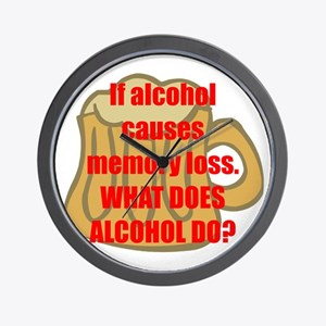 Memory loss Wall Clock