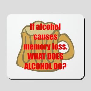 Memory loss Mousepad