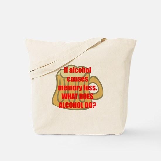 Memory loss Tote Bag