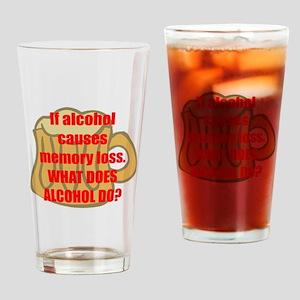 Memory loss Drinking Glass