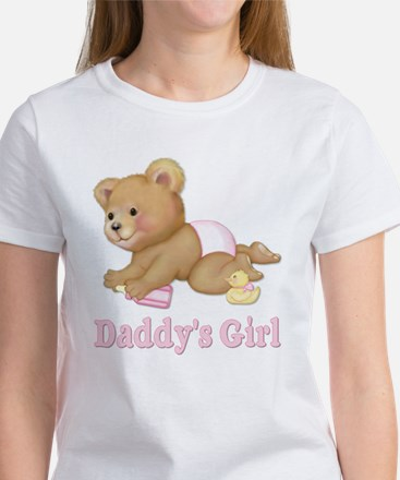 Diaper Teddy - Daddy's Girl Kids T-Shirt