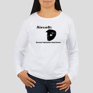Errghhh Paintball Women's Long Sleeve T-Shirt