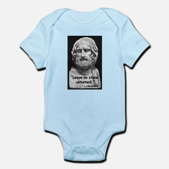Euripides Stone Quote Infant Bodysuit