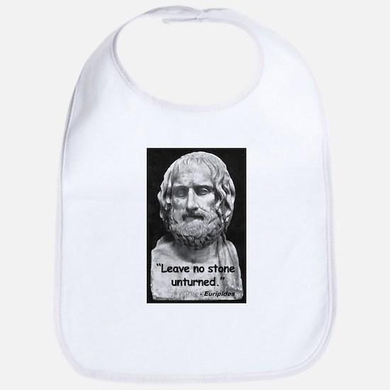 Euripides Stone Quote Bib