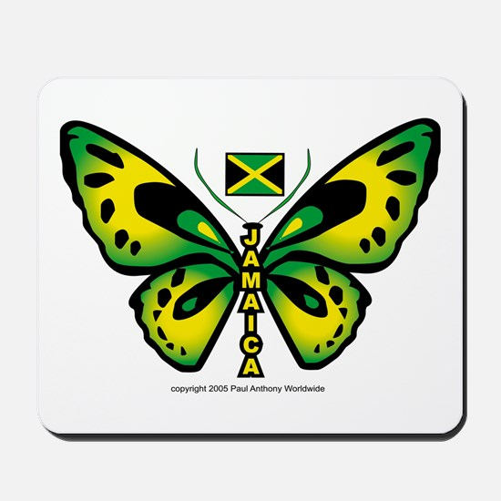 Jamaica Butterfly Mousepad