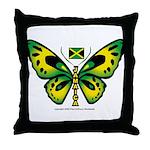 Jamaica Butterfly Throw Pillow