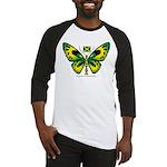 Jamaica Butterfly Baseball Jersey