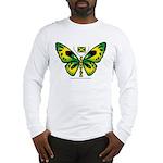 Jamaica Butterfly Long Sleeve T-Shirt