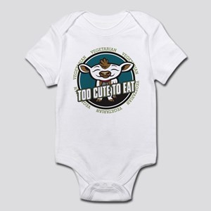 Too Cute to Eat Cow Infant Bodysuit