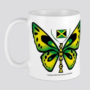 Jamaica Butterfly Mug