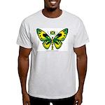 Jamaica Butterfly Ash Grey T-Shirt