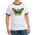 Jamaica Butterfly Ringer T