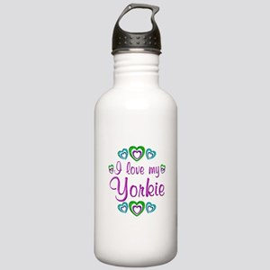 Love my Yorkie Stainless Water Bottle 1.0L