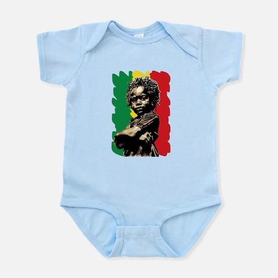 Rasta Child Body Suit