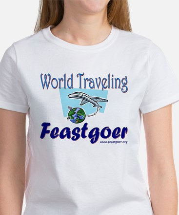 World Traveling Feastgoer Women's T-Shirt