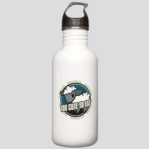 Too Cute to Eat Sheep Stainless Water Bottle 1.0L