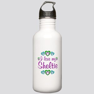 Love My Sheltie Stainless Water Bottle 1.0L