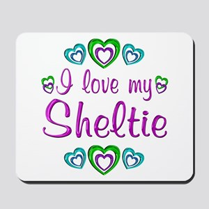 Love My Sheltie Mousepad