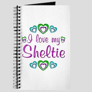 Love My Sheltie Journal