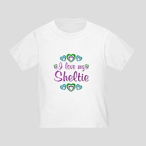 Love My Sheltie Toddler T-Shirt
