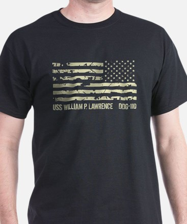 USS William P. Lawrence T-Shirt