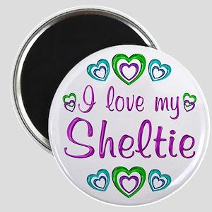 Love My Sheltie Magnet