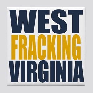West Fracking Virginia Tile Coaster