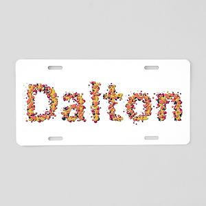 Dalton Fiesta Aluminum License Plate