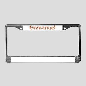 Emmanuel Fiesta License Plate Frame