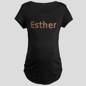 Esther Fiesta Maternity Dark T-Shirt