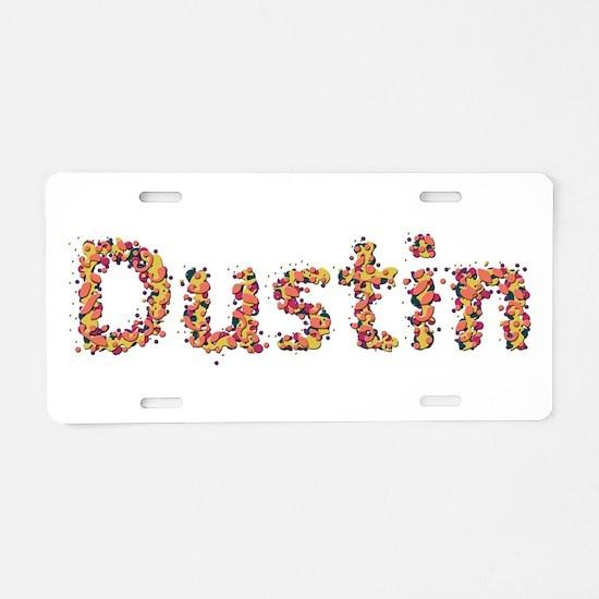 Dustin Fiesta Aluminum License Plate