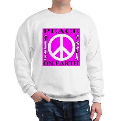 Peace On Earth For All Humani Sweatshirt