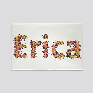 Erica Fiesta Rectangle Magnet