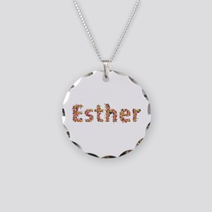 Esther Fiesta Necklace Circle Charm