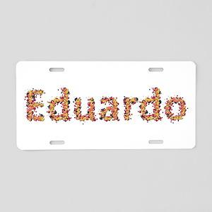 Eduardo Fiesta Aluminum License Plate