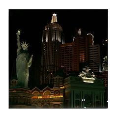 New York, New York Tile Coaster