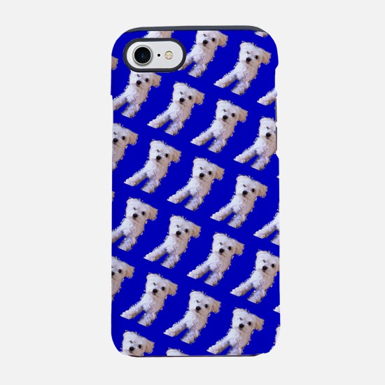 Munchin Maltese Blue 4Selia iPhone 7 Tough Case