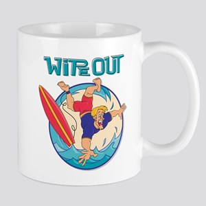 Wipe Out Surfer Mug