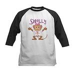 Little Monkey Shelly Kids Baseball Jersey