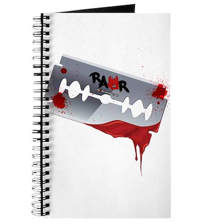 Emo Razor Blade Journal