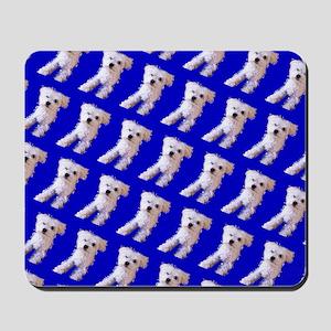 Munchin Maltese Blue 4Selia Mousepad