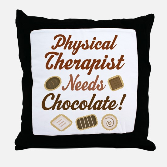 Physical Therapist Gift Funny Throw Pillow