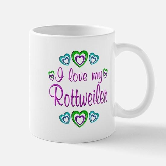 Love My Rottweiler Mug