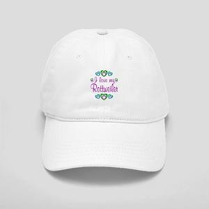 Love My Rottweiler Cap