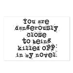 Dangerously Close Postcards (Package of 8)