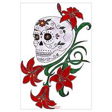 sugar skull 1 Poster
