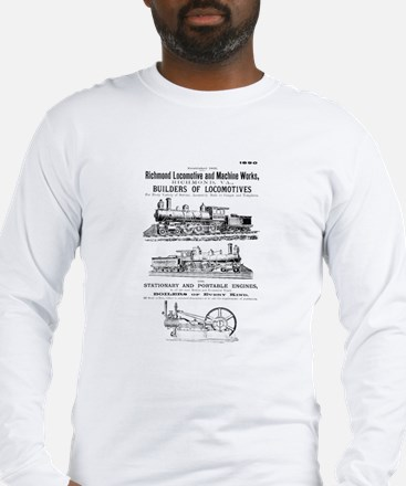 Richmond Locomotive Works Long Sleeve T-Shirt